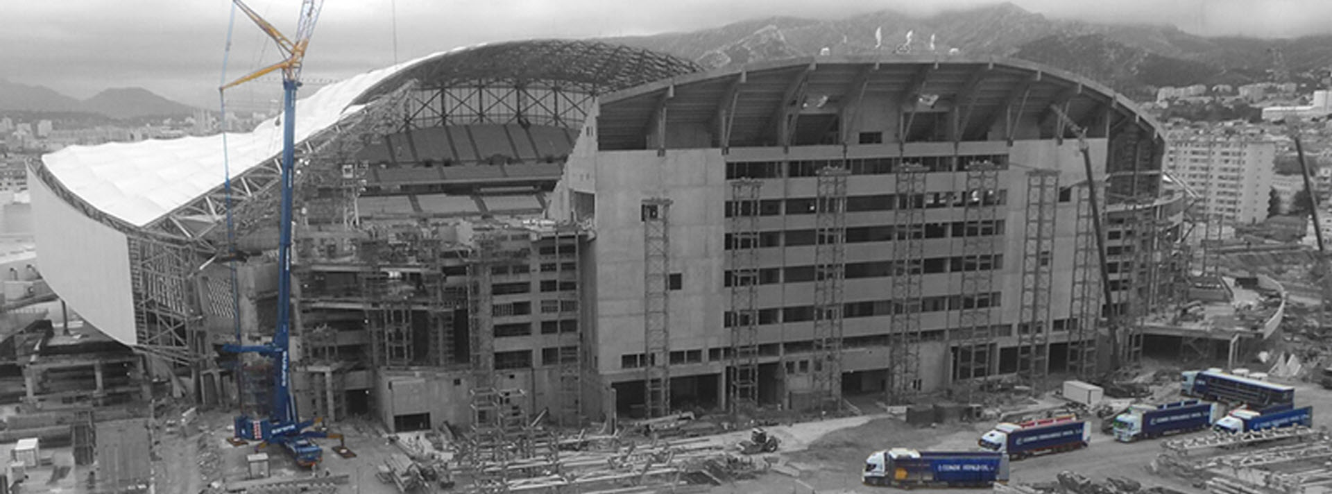 Estadio del Velodrome Marsella